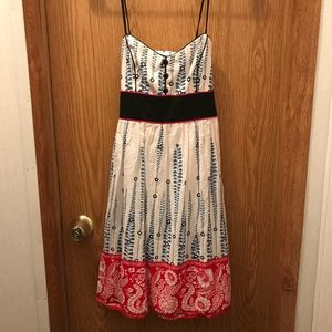 Teeze Me dress size 9 - red, white and blue